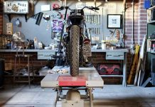 Motorcycle Garage: Build Your Own Man Cave