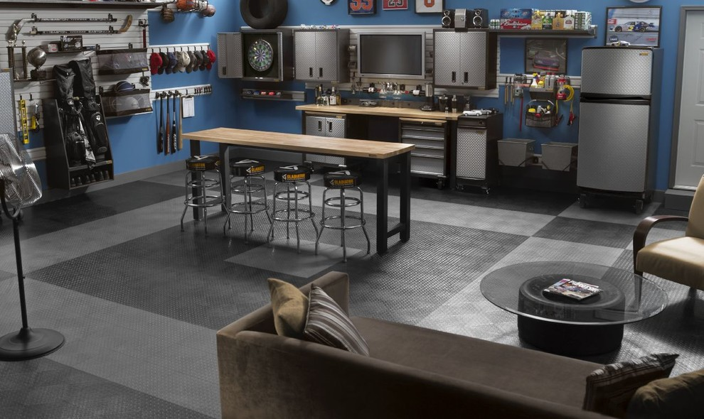 Motorcycle garage: build your own man cave tunedtrends