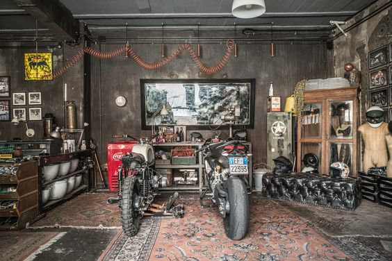 Motorcycle Garage Build Your Own Man Cave Tunedtrends